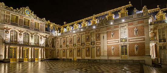 Beautiful Versailles by night