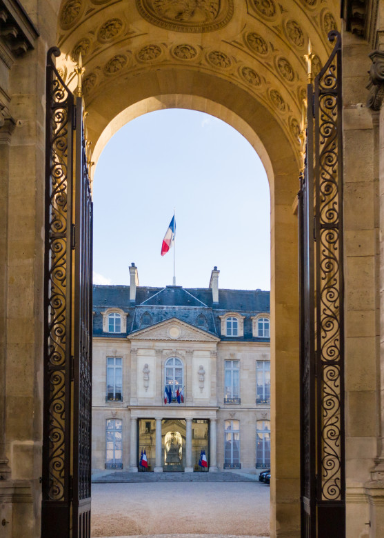 The Elysee Palace in Paris